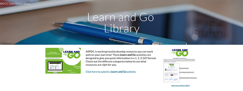 ARPDC Learn and Go Library